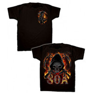 Sons of Anarchy Reaper Flames Adult T-shirt