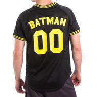Batman 00 Men's Black Mesh Poly Jersey
