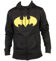 Batman Pieced Poly Adult Hoodie