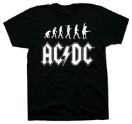 AC/DC Rock Evolution Adult T-Shirt