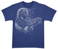 Grateful Dead Jerry Garcia - Blown Away Adult T-Shirt