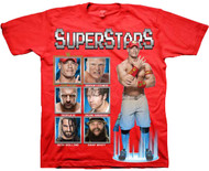 WWE Superstars Splatter Youth T-Shirt