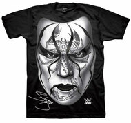 WWE Wrestling Black For Sting Adult T-Shirt