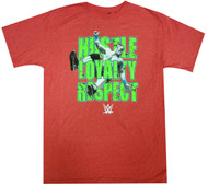 WWE Superstar John Cena Hustle Loyalty Respect Youth T-Shirt