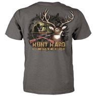 Hunt Hard or Stay Home - Deer Hunting T-Shirt