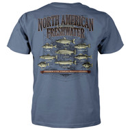 North American Freshwater - Fishing Headquarters T-Shirt