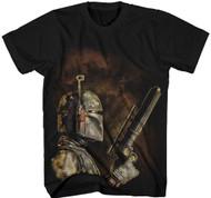 Star Wars The Bounty Hunter Adult T-Shirt