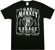 Gas Monkey Garage - Filigree Adult T-Shirt