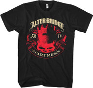 Alter Bridge Fortress Banner Adult T-Shirt