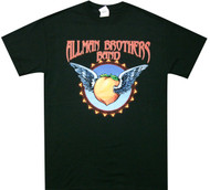 Allman Brothers Band Flying Peach Adult T-Shirt