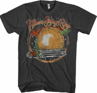 Allman Brothers Band Space Peach Adult T-Shirt