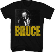 Bruce Springsteen Live Head Shot Photo Adult T-Shirt