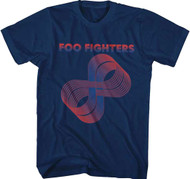 Foo Fighters Loops Logo Adult T-Shirt