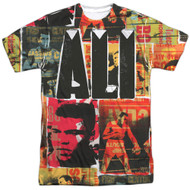 Muhammad Ali Posters All Over Sublimation Print Adult T-Shirt