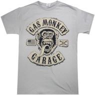 Gas Monkey Garage - Flux Tackle Twill Logo Adult T-Shirt