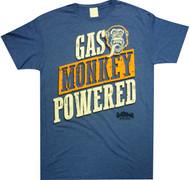 Gas Monkey Garage - Gas Monkey Powered Adult T-Shirt