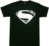 Batman VS Superman - Superman White Logo Adult T-Shirt