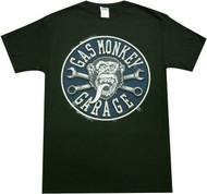 Gas Monkey Garage - Faux Stitched Patch Adult T-Shirt