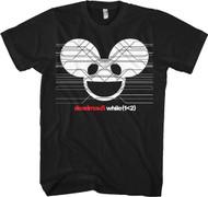 Deadmau5 While(1<2) Black Adult T-Shirt