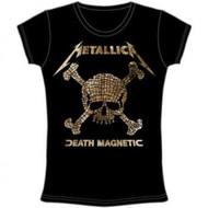 Metallica Skull Mosaic  Death Magnetic Juniors T-Shirt