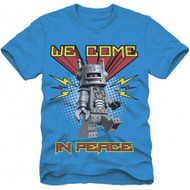 Lego Mini Figures We Come In Peace Youth T-shirt
