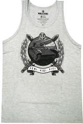 World of Tanks Veni Vidi Vici Adult Heather Tank Top