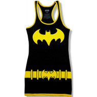 Batman Character Juniors Black Tank Dress