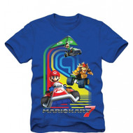 Super Mario Bros Mario Kart 7 Youth T-shirt