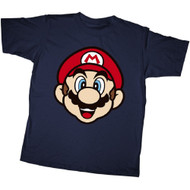Nintendo Mario Face Youth T-shirt