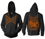 Tapout Battle Tested Adult Zip Up Hoodie