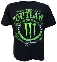 Panic Switch Kurt Busch The Outlaw Monster Adult T-Shirt