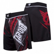 TapouT 4 Way Stretch Performance Fight Shorts (Red)