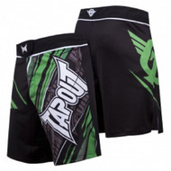 TapouT 4 Way Stretch Performance Fight Shorts (Green)