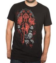 World of Warcraft Death Knight Legendary Class Adult T-Shirt
