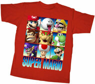 Nintendo Stacks Super Mario Youth T-Shirt