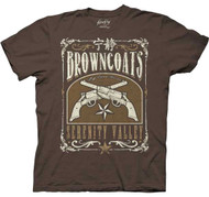 Firefly Browncoats Serenity Valley Adult T-shirt