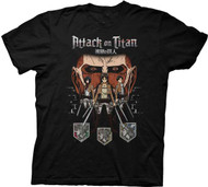 Attack On Titan - Titan In Shadows Adult T-shirt