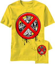 Marvel Ex Men X-Men Hiding Adult T-Shirt