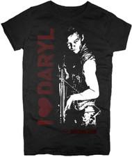 The Walking Dead I Heart Daryl Juniors T-Shirt