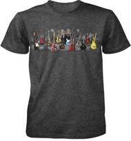 Electric Guitars Adult T-Shirt