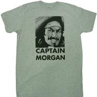 Captain Morgan Face Logo Adult T-Shirt