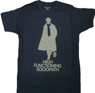 Sherlock High Functioning Sociopath Adult T-Shirt