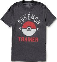 Pokemon Club Trainer Pokeball Adult T-Shirt