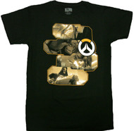 Overwatch Heroes and Assassins Premium Adult T-Shirt