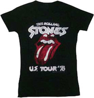 The Rolling Stones US Tour 78 Juniors T-Shirt