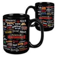 Famous Headbangers - 15 Ounce Sublimation Mug