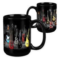 Guitar Stripe - 15 Ounce Sublimation Mug
