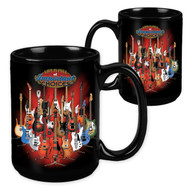 Life Is Full of Important Choices Guitar Stand - 15 Ounce Sublimation Mug