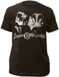 ICP Insane Clown Posse Distressed Portrait Adult T-Shirt