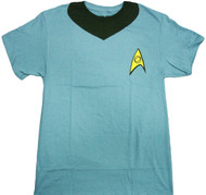 Star Trek Spock Uniform Adult T-Shirt